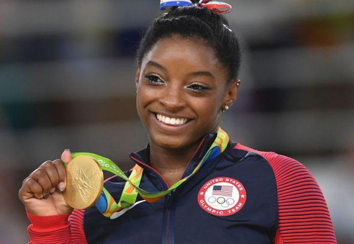 Biles ganó cuatro medallas de oro en los Juegos Olímpicos de Río de Janeiro 2016. (Foto: Contexto)