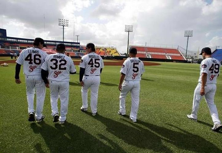 Pablo Ortega será el encargado de abrir el tercer juego de la serie ante Delfines que se llevará a cabo en Campeche. (Foto de contexto/SIPSE)