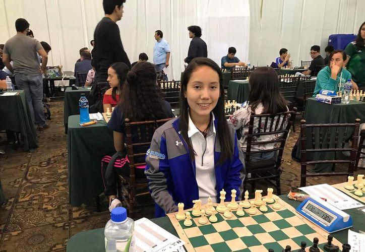 La ajedrecista quintanarroense Hiromi Carrillo se coronó como subcampeona nacional en los  IX Juegos Nacionales Infantiles y Juveniles de Ajedrez. (Cortesía)