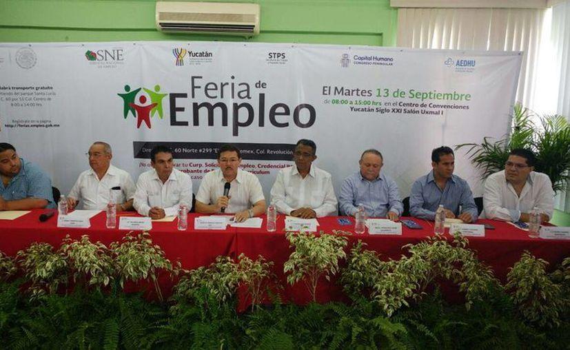 Este 13 de septiembre se realizará una feria del empleo en Yucatán, en la que se ofertarán más de 1,000 plazas de trabajo. (José Acosta/SIPSE)