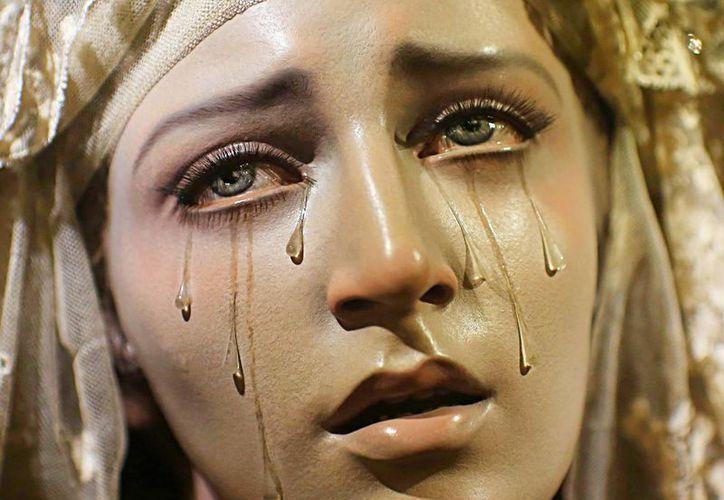 En todo el mundo se han registrado casos de vírgenes que lloran. (Jorge Moreno/SIPSE)