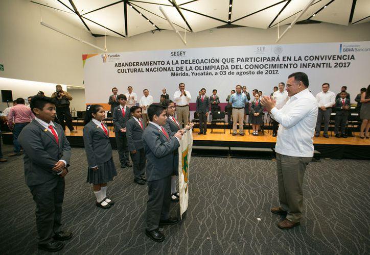 Serán 25 los niños que representen a Yucatán en esta convivencia cultural. (Milenio Novedades)
