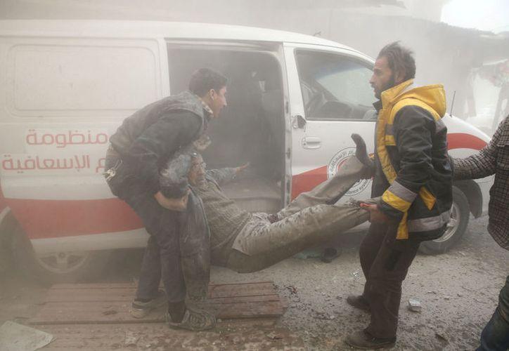 El suburbio del este de Ghouta ha sido el escenario de intensos ataques. (Foto: Reuters)