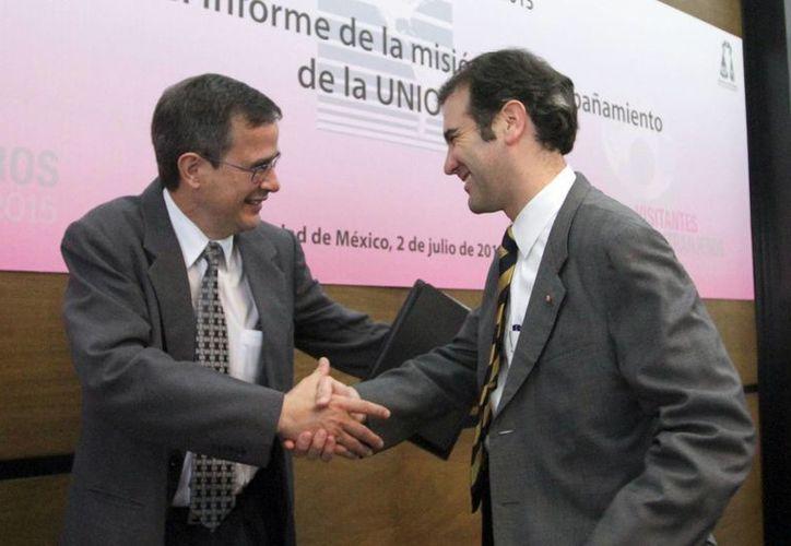 Lorenzo Córdova indicó que están en curso ante el TEPJF un total de 499 procesos de impugnación. (Archivo/Notimex)