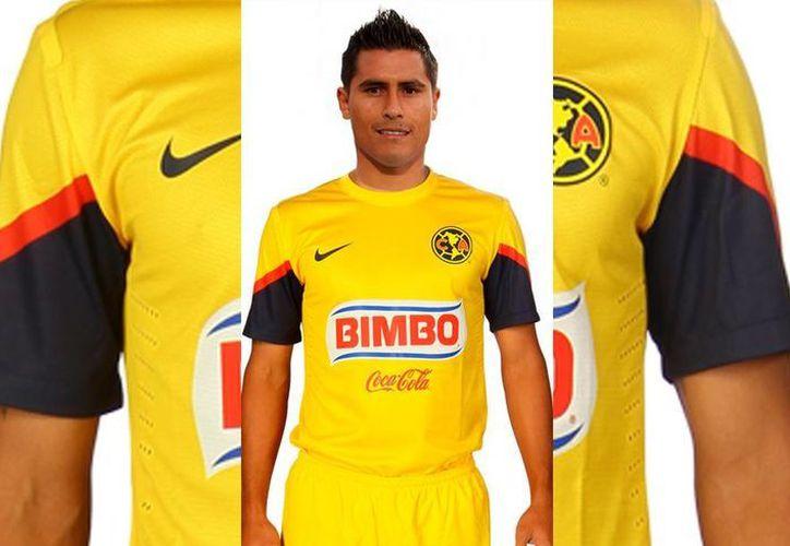 Osvaldo Martínez, del América, encabeza la tabla de goleo en el arranque del Apertura 2014. (SIPSE)