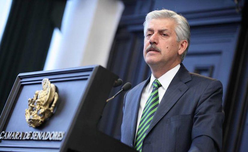 García Cervantes rechazó que los recursos presupuestales sean un impedimento para realizar este trabajo. (senado.gob.mx)