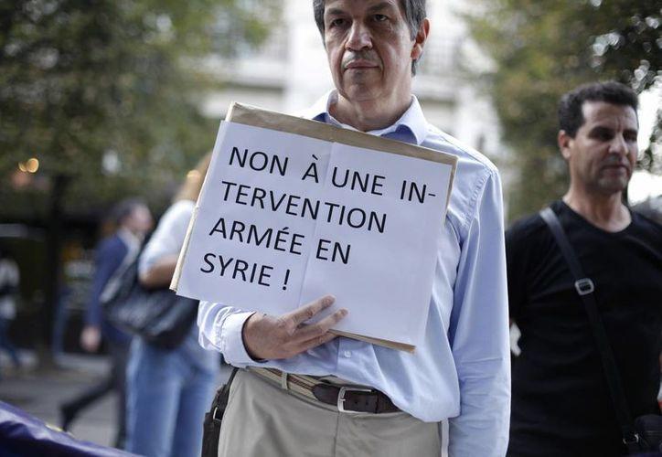 La negativa británica pone en duda la intervención francesa en Siria. (Agencias)