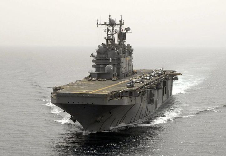 Algunos de los buques de guerra son enormes, sofisticados, avanzados, pero muy mal concebidos. (todanoticia.com)