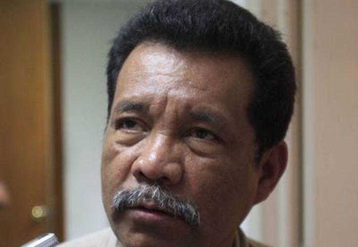 El representante estatal del PT, Hernán Villatoro Barrios. (Jorge Carrillo/SIPSE)