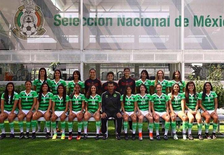 México no pudo aguantar la ventaja sobre las estadounidenses y quedaron eliminadas de la justa mundialista.(Foto tomada de Twitter/ Selección de México)