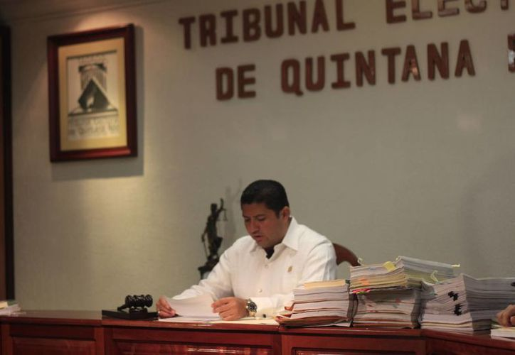 Con la sesión pública celebrada este viernes, el Teqroo concluyó antes del término otorgado por ley con el análisis y determinación de los 157 juicios promovidos en el presente proceso electoral. (Harold Alcocer/SIPSE)