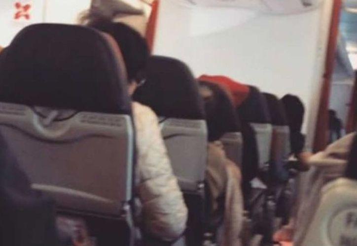 El avión aterrizó sin problemas y ninguna persona resultó herida. (Excelsior)
