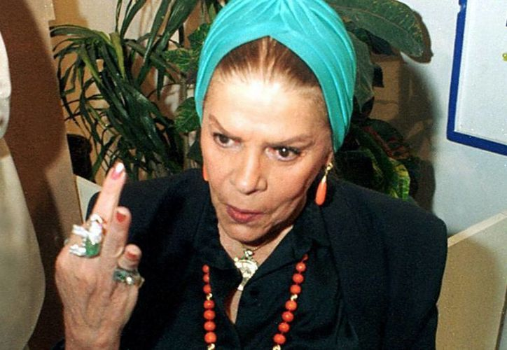 La actriz cubana deja un legado en el cine mexicano en cintas como Coqueta, Sensualidad y Víctimas del pecado. (Notimex)