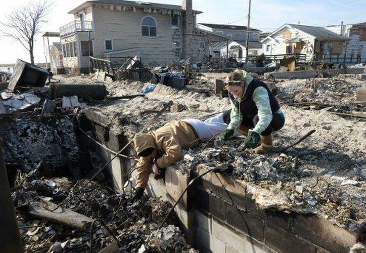 Cientos de habitantes de Nueva York perdieron sus casas o tuvieron daños importantes en las mismas. (Agencias)