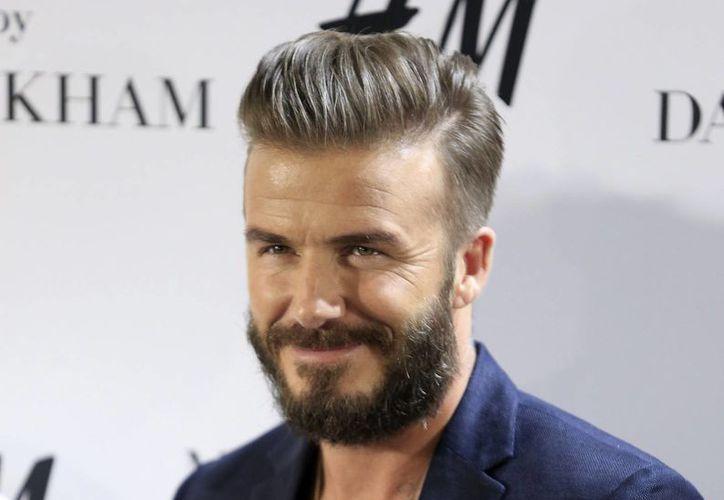 David Beckham estuvo en Madrid, España, donde presentó su nueva colección para la firma H&M. (EFE)