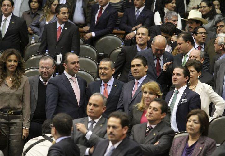 Los legisladores se manifestaron a favor de la transparencia y rendición de cuentas. (Notimex)