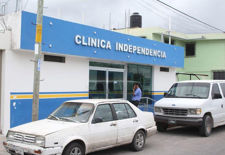 Mario Villanueva Madrid, ingresó ayer a la Clínica Independencia de Chetumal por problemas del corazón. (Joel Zamora/SIPSE)
