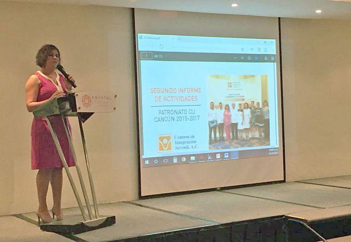 Leslie Hendricks Rubio promueve la construcción del centro de internamiento en Playa del Carmen. (Eva Murillo/SIPSE)