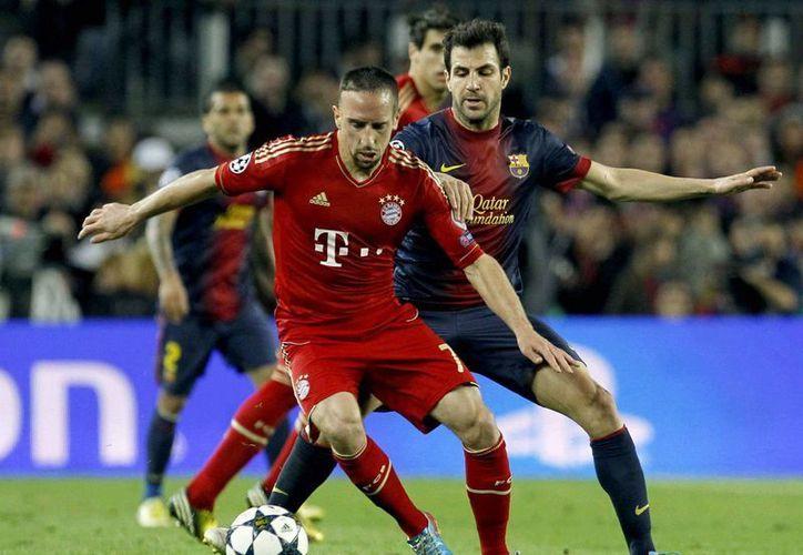 Barcelona poco pudo hacer ante la aplastante maquinaria del Bayern. (EFE)