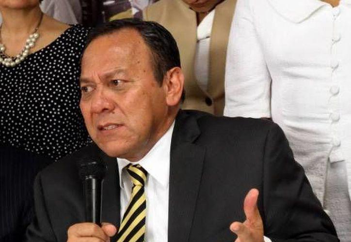 Jesús Zambrano anunció la salida del PRD del Pacto por México. (Notimex/Foto de archivo)