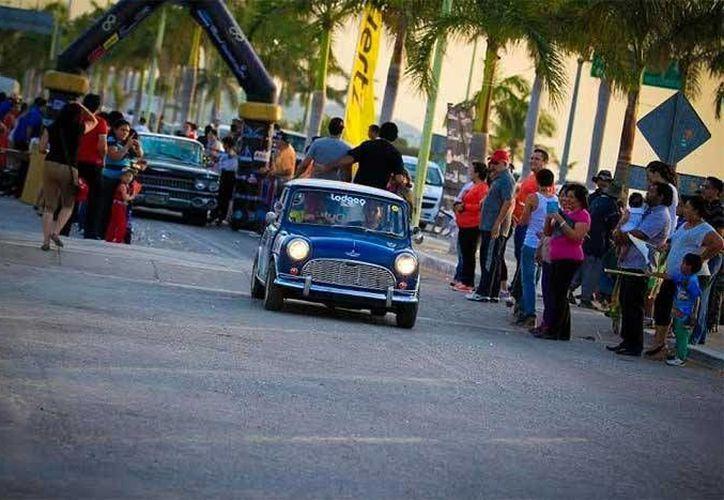 El Rally Maya México 2015 se realiza esta semana y abarca los tres estados de la Península de Yucatán. (e-consulta.com)