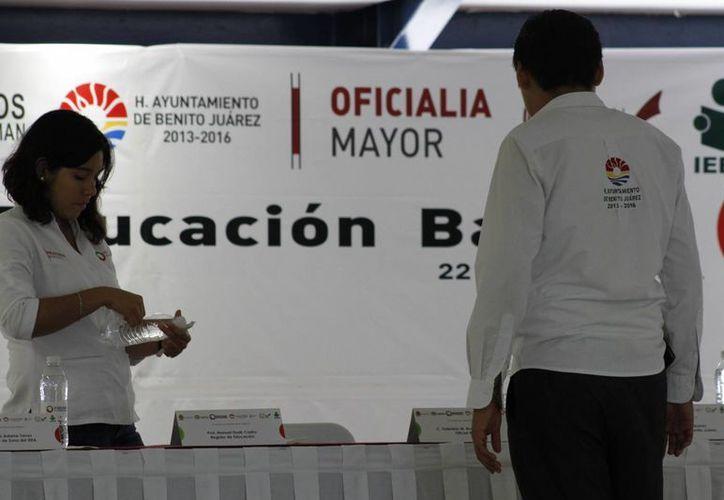 El evento se llevó a cabo en el auditorio del (Cbtis), plantel 111. (Sergio Orozco/SIPSE)