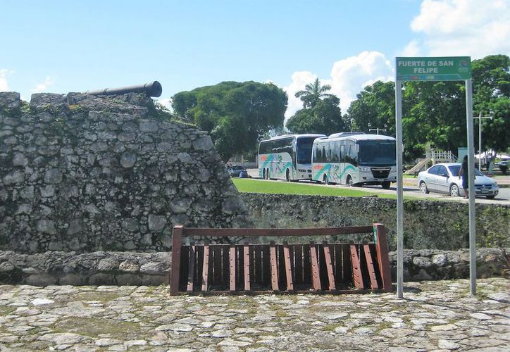 El Fuerte de San Felipe de Bacalar fu ordenado levantarse en 1725 por Antonio de Figueroa y Silva, gobernador de Yucatán para defenderse de los colonizadores ingleses. (Javier Ortiz/SIPSE)