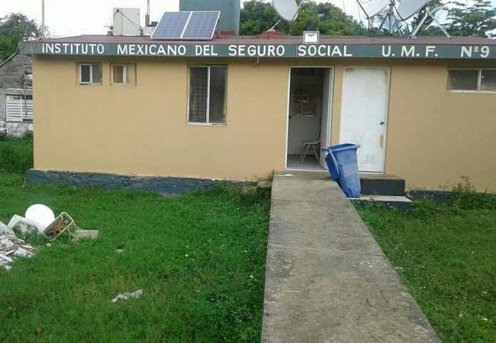 La clínica del IMSS de Punta Allen no cuenta con médico desde hace más de un mes. (Sara Cauich/SIPSE)