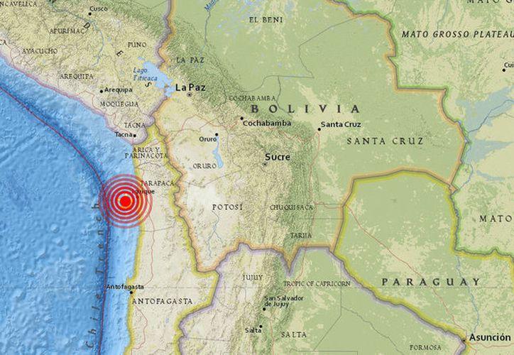 Un terremoto de magnitud de 5,6 se ha registrado en Chile. (USGS)
