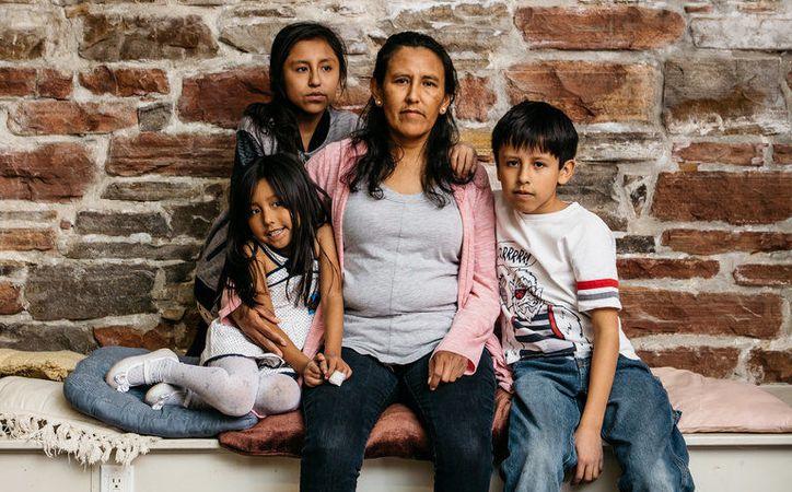 La mexicana indocumentada Jeanette Vizguerra, que vive en Estados Unidos, fue nombrada una de las 100 personas más influyentes según la revista Time. (The New York Times)