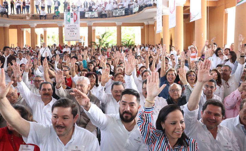 Las personas inscritas al padrón de militantes podrán votar en la elección de consulta a la base. (Daniel Sandoval/Novedades Yucatán)