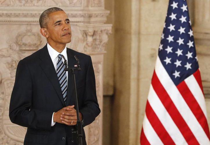 El presidente de EU, Barack Obama condenó los ataques policías registrados en territorio estadounidense en las últimas horas. (EFE)