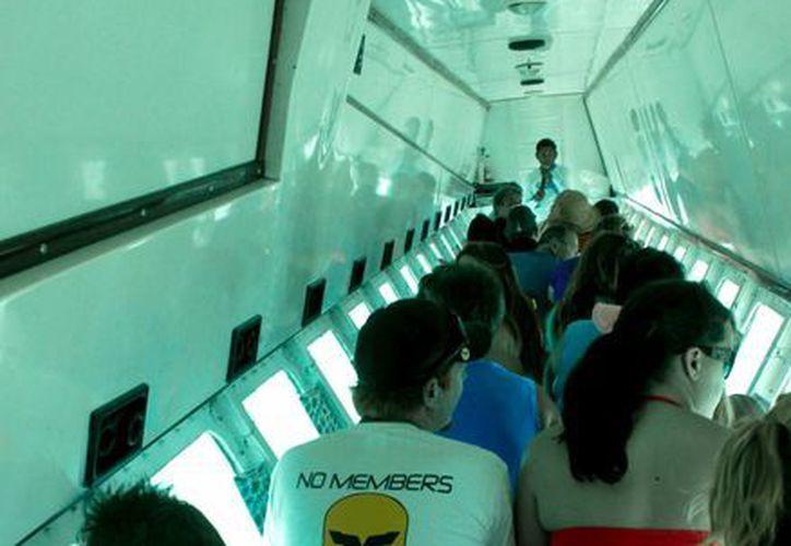 Durante el 2013, el museo subacuático fue visitado por más de 750 mil turistas. (Francisco Gálvez/SIPSE)