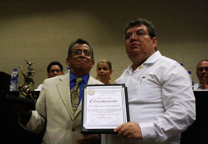 El evento es organizado por la Federación  Nacional de la Asociación  Mexicana de Colegios de Contadores Públicos. (Octavio Martínez/SIPSE)