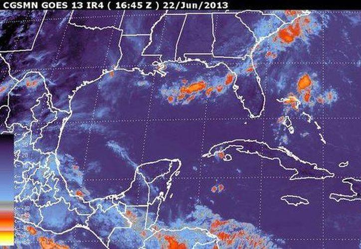Se pronosticaron tormentas de intensas a torrenciales en Veracruz y Chiapas. (smn.conagua.gob.mx)