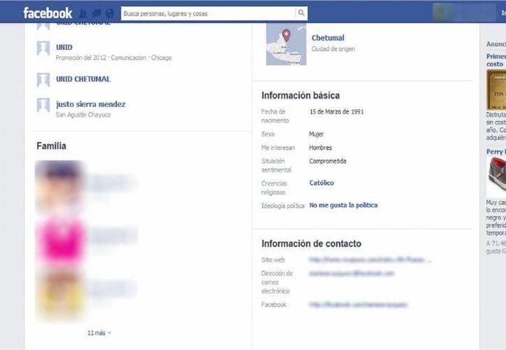 La tendencia de extorsiones a partir de las redes sociales va en incremento. (Enrique Mena/SIPSE)