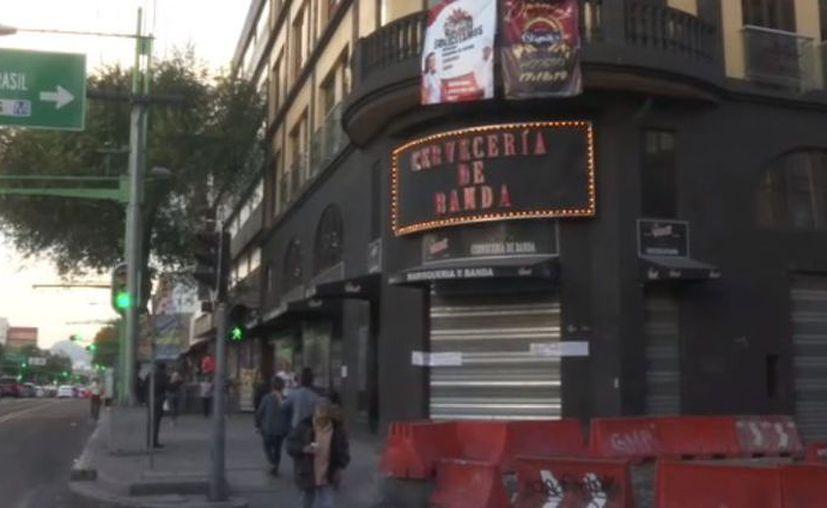 La Cervecería de Banda se ubica en la esquina de Eje Central y Donceles (Foto: Noticieros Televisa)