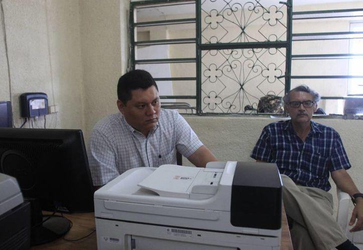 Andrés Blanco Cruz dijo que no ha recibido la notificación de la Sala Regional Xalapa del Trife. (Harold Alcocer/SIPSE)