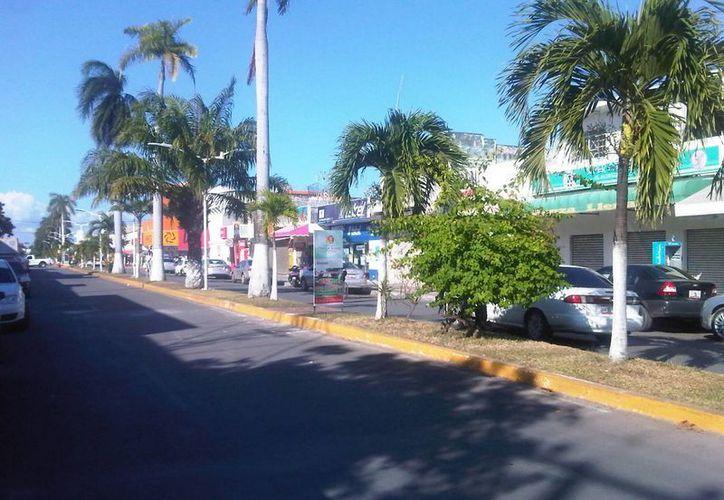 Para el sector empresarial es de suma importancia la remodelación de la avenida. (Harold Alcocer/SIPSE)