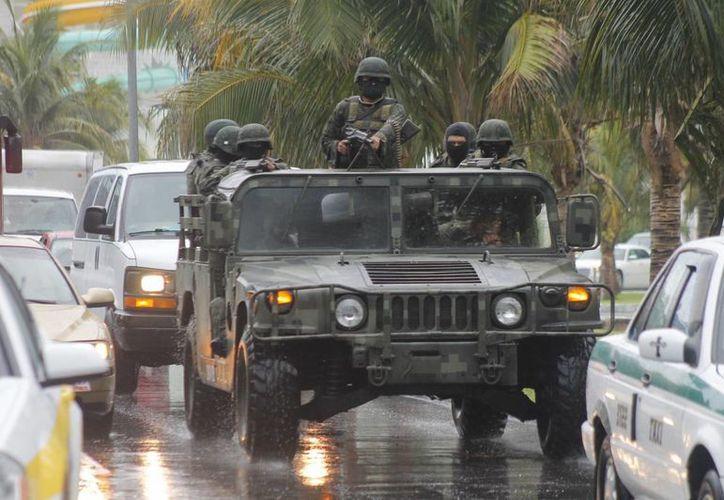 Al menos un integrante de las fuerzas armadas fue castigado o se le aplicó alguna sanción debido a las quejas. (Sergio Orozco/SIPSE)