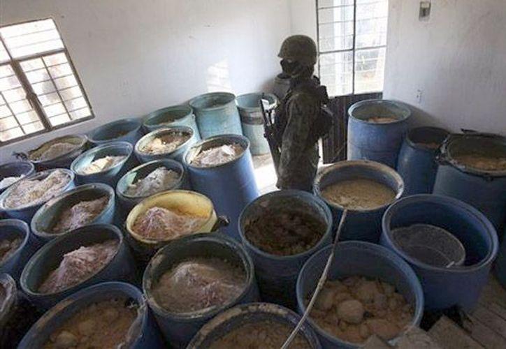 Los detenidos son responsables de importar precursores químicos para la elaboración de metanfetaminas. (Archivo/AP)