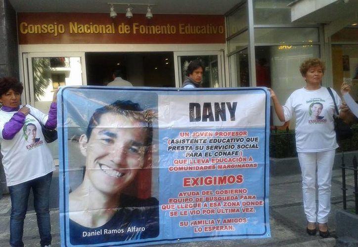 La madre de Daniel asegura que es un muchacho limpio y no está metido en drogas. (Facebook/Todos Juntos por Daniel Ramos Alfaro)