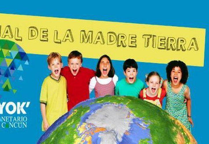 """El Planetaruo Ka' Yok' realizó actividades para conmemorar el """"día Internacional de la Madre Tierra"""". (Redacción/SIPSE)"""