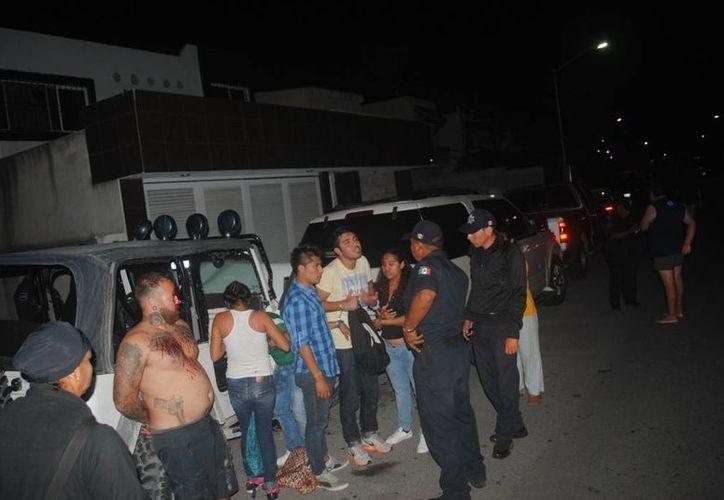 """""""Tayson"""" fue arrestado el sábado por la noche cerca de la Quinta Avenida. (Redacción/SIPSE)"""