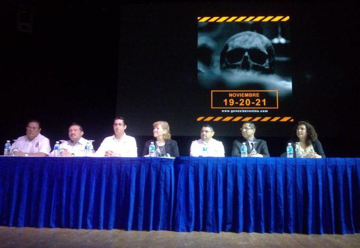Inicia el tercer Congreso Internacional de Criminalística y Criminología. (Eric Galindo/SIPSE)