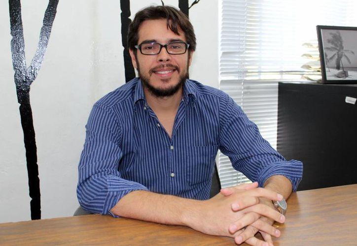 Jorge Méndez Basto, regidor de agua potable y alcantarillado de Progreso. (Milenio Novedades)