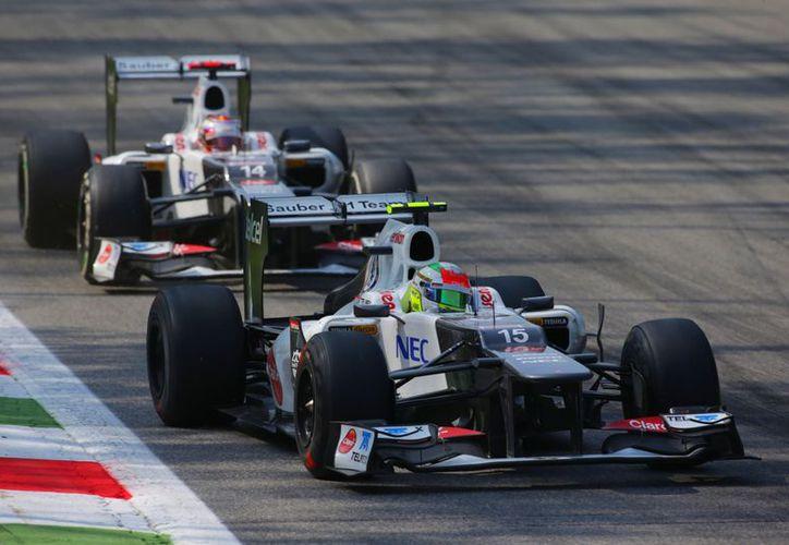 'Checo' Pérez correrá su último gran premio con la escudería Sauber. (Foto: Agencias)