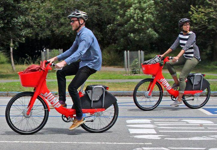 Con la adquisición de Jump, Uber ingresa al negocio de propiedad y operación de flotas de bicicletas eléctricas. (Foto: SF Citizen)