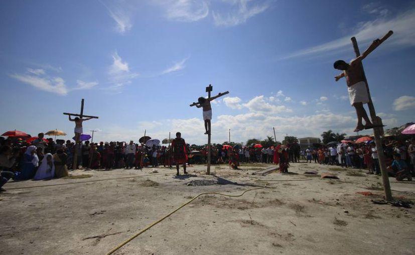 Las actividades que realizan las iglesias durante el jueves y viernes, ya fueron programadas. (Archivo/SIPSE)