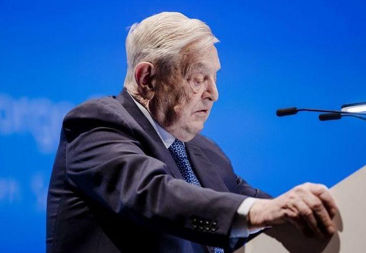George Soros, uno de los firmantes de la carta, en un foro en Bruselas, en junio pasado. (Foto: El Clarín)